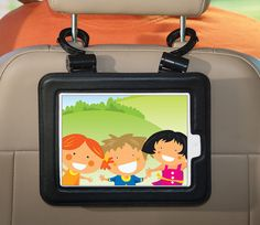 hanging iPad case for cars, kitchen cabinets, gym equipment, etc! GREAT for travel!