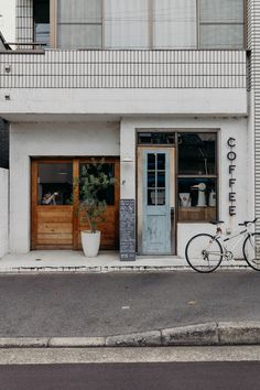 A Long Weekend in Kyoto and Osaka — On the Street Where We Live Coffee Shop Japan, Japanese Coffee Shop, Japanese Shop, Japanese Geisha, Japanese Kimono, Coffee Shop Design, Cafe Design, Store Design, Design Design
