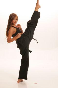Michelle Waterson Karate Hot Fight Girl MMA Woman