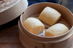 Sweet Potato Mantou (Steam Buns)- I ate like 4 of these in one sitting today!!!!