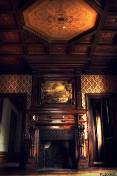 The fireplace [at the mansion] (FR) | by Post-Mortem (Alexandre Katuszynski)