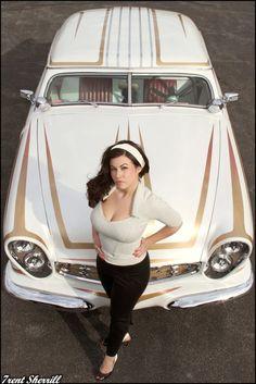 '51 Ford Victoria & Newer Version Hottie