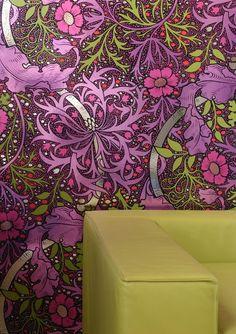Lenny Kravitz Designed Kabloom Wall Covering by Flavor Paper