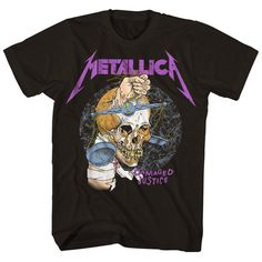 Damaged Justice Tour T-Shirt (Reissue) SN, This t-shirt is Made To Order, one by one printed so we can control the quality. Metallica T Shirt, Black Sabbath Shirt, Master Of Reality, Tour Merch, And Justice For All, Tour T Shirts, Laptop Sleeves, Mens Tops