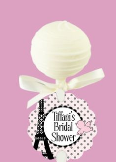 "Just order for Botox in Paris event to go on cake pops.. Saying ""Botox in Paris"""