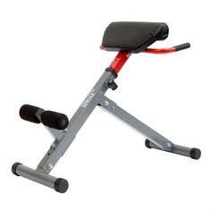 Ryggbänk för träning av speciellt nedre ryggen. Förebygger och förhindrar många ryggproblem. Justerbar höjd gör att den kan anpassas motionären.