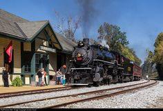 RailPictures.Net Photo: SOU 4501 Southern Railway Steam 2-8-2 at Summerville, Georgia by Jordan Hood