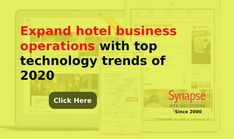 Bring improvement in your HOTEL BUSINESS based on LATEST TECHNOLOGY TRENDS OF HOSPITALITY INDUSTRY.   Get reliable technical assistance from SynapseWebSolutions to increase hotel bookings. Business Operations, Latest Technology, Hospitality, Innovation, Trends, Beauty Trends