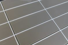 Manhattan Taupe Brown 4x12 Glass Subway Tiles