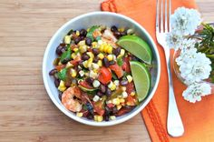 Seasaltwithfood: Black Bean Salsa With Chilies, Corn, and Tomatoes