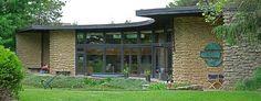 Solar Hemicycle Usonian   Jacob's House 1943  by Frank Lloyd Wright