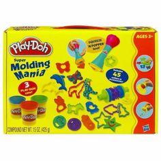 Hasbro Play-Doh Super Molding Mania Set