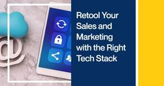 Retool Your Sales and Marketing with the Right Tech Stack Crm Tools, Questions To Ponder, Website Analysis, Email Service Provider, Customer Relationship Management, Growth Hacking, Email Campaign, Sales And Marketing, Growing Your Business