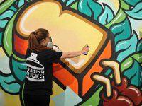 Artista - Part of Milliken's Street Art Extravaganza for CDW 2016