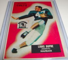 1955 Louis Dupre Bowman #160 for $ 30.00 | The Baseball Card Store Network