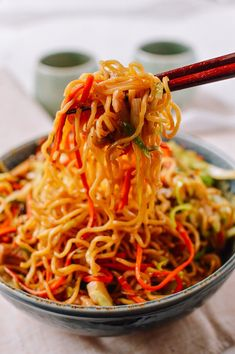 Chicken Yakisoba: A Quick, Authentic Japanese Recipe | The Woks of Life