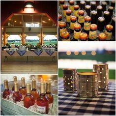 rehearsal dinner ideas | Rustic Barn Wedding Rehearsal BBQ - Rustic Wedding Chic