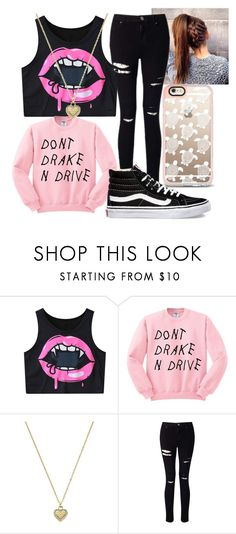 """Collab W/ @Hazzastylesfan123"" by sammieburkeee on Polyvore featuring Michael Kors, Miss Selfridge and Vans"