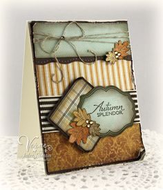 Autumn Splendor Card - Beautiful