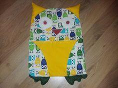 Pyžamo žrút/Owl Pajama eater Owl, Pajamas, Reusable Tote Bags, Handmade, Hand Made, Owls, Craft, Pajama