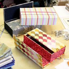 Our New Cartonagem Art Box Class!