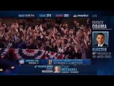 After calling Ohio for President Obama, and with no relevant battleground states left to call, Rachel Maddow and MSNBC called the presidential election for President Barack Obama.