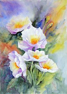2015 Watercolor Art Show - WetCanvas Flower Painting, Art Painting, Watercolor Flowers Paintings, Fine Art Painting, Floral Art, Painting, Canvas Art, Watercolor Art Paintings, Floral Watercolor