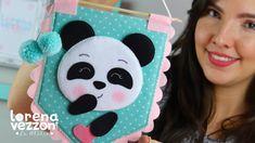 Cute Panda Cartoon, Felt Crafts Patterns, Panda Birthday, Felt Banner, Panda Art, Baby Sewing Projects, Felt Baby, Cute Art, Activities For Kids