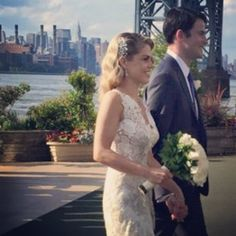 Congratulations to Heather from @hwilliamsdesign!  Another beautiful bride wearing EHNYC #bridesofinstagram #beautiful #newyorkcity #newyorkweddings #brooklynbrides #amazing #gorgeous #hwilliamsshoes #amazingdesigner #newyorkweddings #weddingdress #weddingday #happy