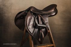 When you are a photographer and have to sell your jump saddle because you don't jump much anymore, and you have big vet bills to pay, but it's your dream saddle, so you give it a proper photo shoot. Jumping Saddle, Equestrian Style, Equestrian Fashion, Equine Photography, Product Photography, Horse Pictures, Horse Tack, Saddles, Beautiful Horses