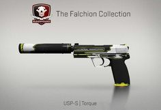 Counter-Strike Global Offensive: The Falchion Collection: USP-S Torque