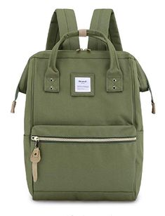 Diaper Bags Backpack Mummy Backpack with Green Plants Leaves Travel Laptop Daypack