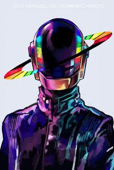 Daft Punk by Arrrkal.deviantart.com on @deviantART