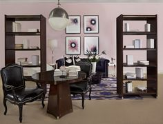 """""""The Library"""" in Henredon Interior Design Showroom, Suite 122 Photo by Beth Singer"""