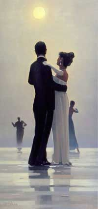 Dance me to the end of Love, Jack Vettriano