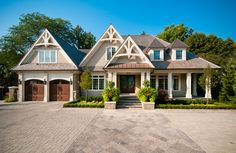 Home Renovation & Addition – Exterior Entrance, Terrace and Garage, Oakville | whitehallhomes.ca