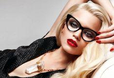 Макияж под очки- правила создания makeup для носящих очки