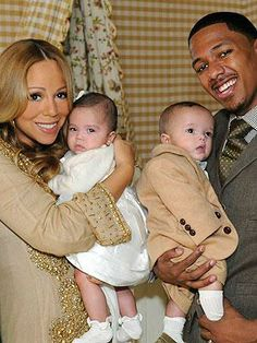 Mariah Carey with Moroccan and Monroe