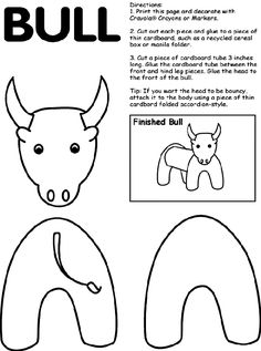 The Story of Ferdinand - Bull coloring page