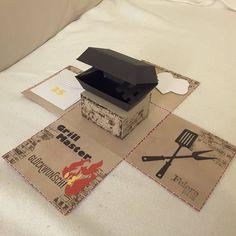 """28 Likes, 2 Comments - Janas Ideenreich (@janasideenreich) on Instagram: """"#Explosionsbox #card#mitbringsel #Geldgeschenk #grill #box#GEBURTSTAG#Jubiläums#stempel…"""""""
