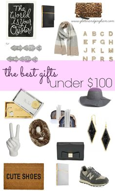 The Best Gifts Under $100! Gift Guide from Glitter & Gingham.com