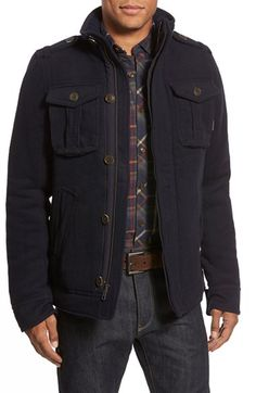 Jeremiah 'Levi' Stand Collar Jacket available at #Nordstrom