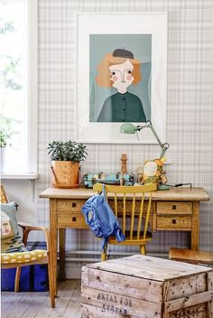 Little boys bedroom In a Charming Swedish Country Home