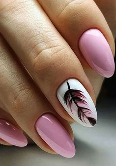 pink nails with glitter accent . pink nails with rhinestones . pink nails with glitter Simple Nail Art Designs, Short Nail Designs, Easy Nail Art, Cool Nail Art, Acrylic Nail Designs, Pink Nail Art, Pink Nails, Gel Nails, Nail Nail