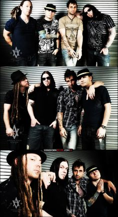 Shinedown- another band I've seen numerous times, either at Rockfest in Kansas City, or several single shows. Great band live!