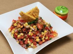Receta de Ensalada mexicana con frijoles