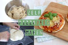 Zelf (spelt)pizzadeeg maken? Je denkt misschien dat alleen de echte pizzabakkers zelf hun pizzadeeg kunnen maken, maar dit kan je prima zelf thuis maken!