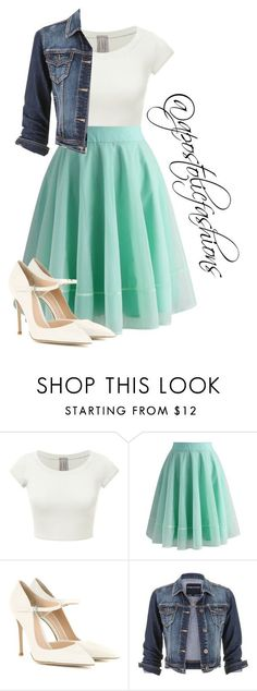 """Apostolic Fashions #1359"" by apostolicfashions on Polyvore featuring Chicwish, Gianvito Rossi and maurices - cute black dresses for juniors, white tight dresses, pink white dress *sponsored https://www.pinterest.com/dresses_dress/ https://www.pinterest.com/explore/dress/ https://www.pinterest.com/dresses_dress/bodycon-dress/ http://tnuck.com/collections/ladies-dresses"
