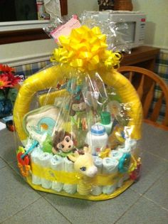 Diaper Gift Basket