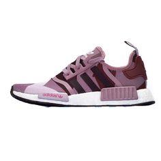 Originals Adidas NMD W Blanch P�rpura P�rpura rojo venta